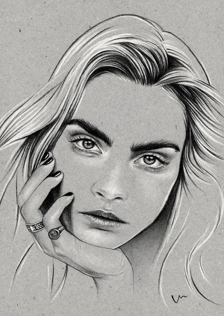 Cara Delevingne by VanessaWeuffel