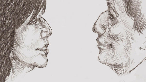 Adama and Roslin Profile by Haganegirl