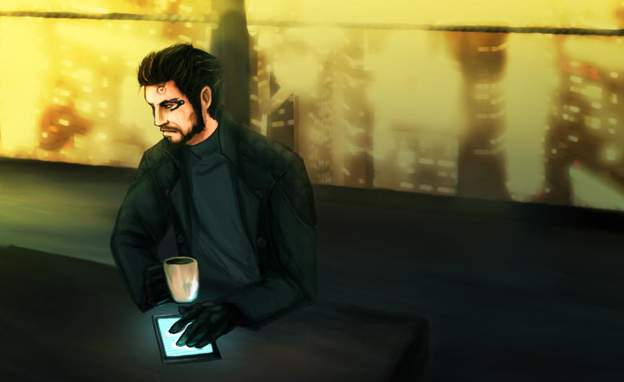 Adam Jensen 2 by Haganegirl