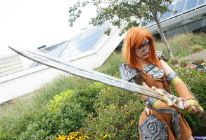 Aela the Huntress 2 by Haganegirl