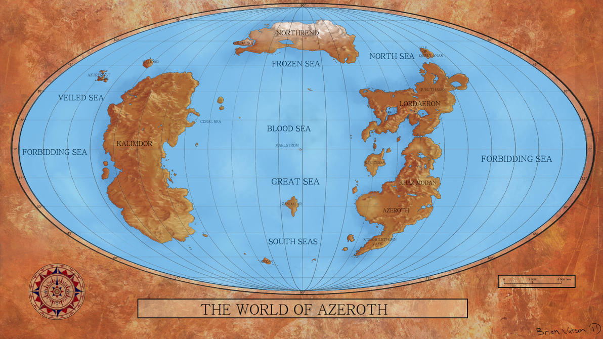 The world of azeroth by seven44 on deviantart the world of azeroth by seven44 gumiabroncs Images