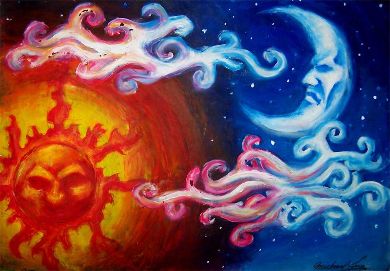 Sun and moon by Luumanfoo29