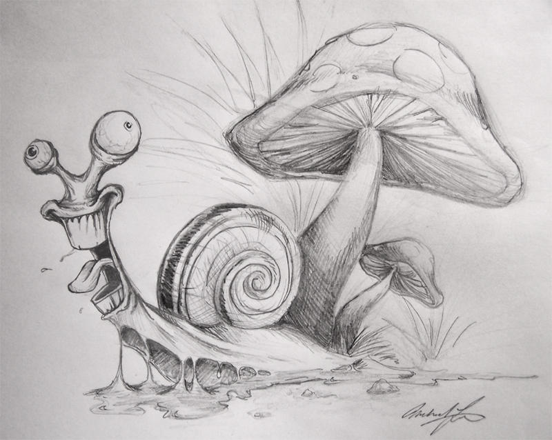 Crazy Snail By Luumanfoo29 On Deviantart