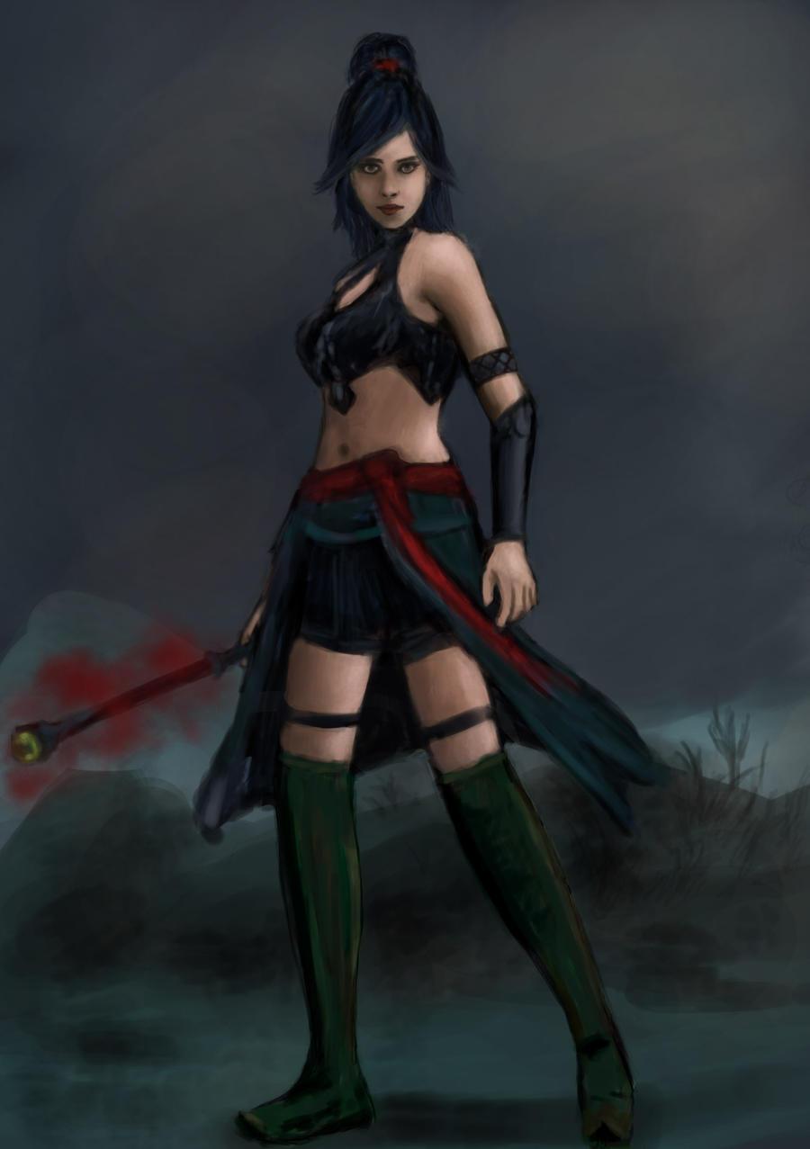 Diablo 3 wizard female naked xxx image