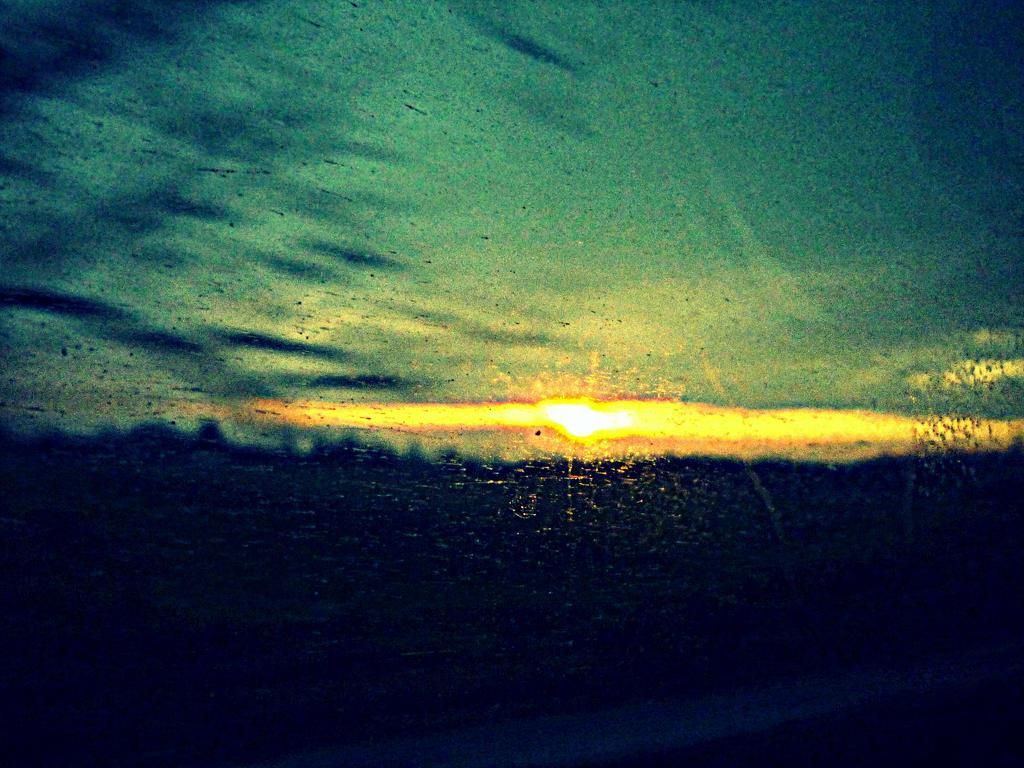 sunset by depokid