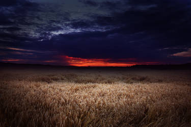 Sunset Kecskemet by depokid
