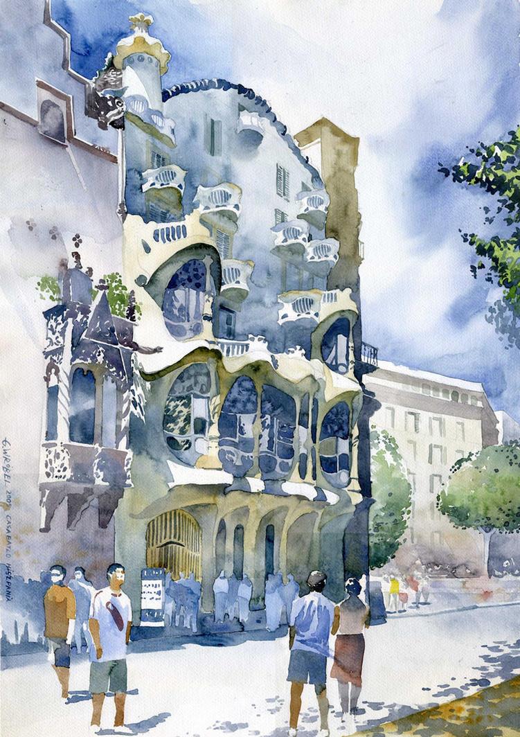 Casa Batllo by GreeGW