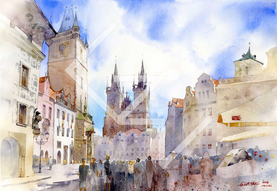 Praha 01 by GreeGW