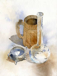 Wood Glass Metal by GreeGW