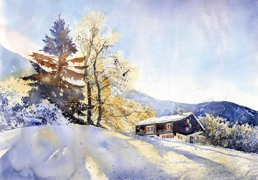 Winter Day by GreeGW