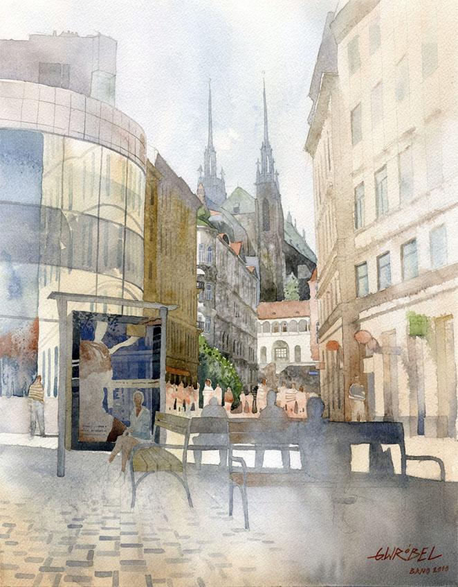 Brno-Josefska by GreeGW