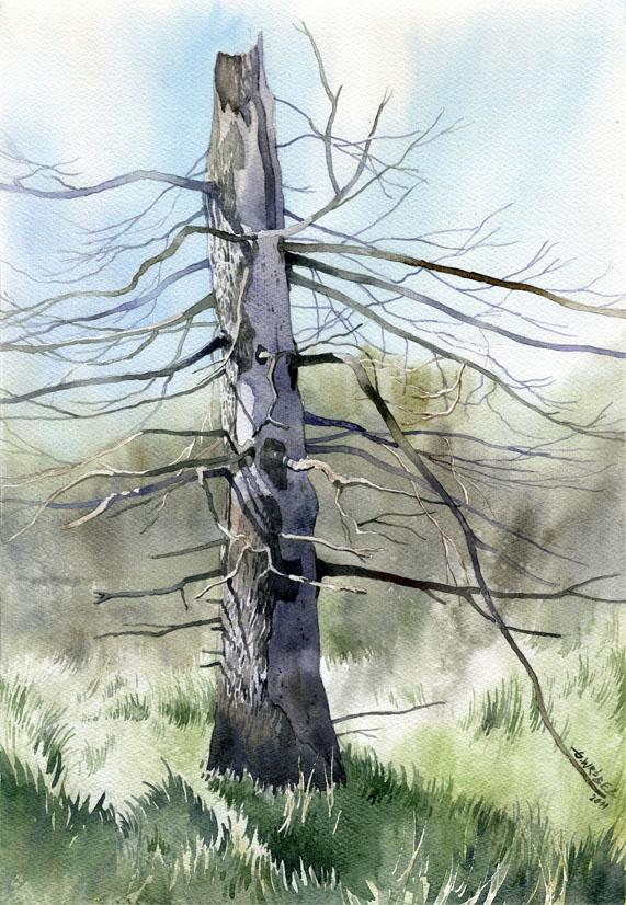 Simple tree by GreeGW