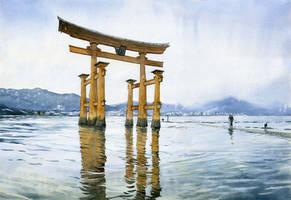 Torii gate by GreeGW