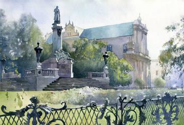 Somewhere in Warsaw by GreeGW