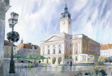 Kalisz Town Hall by GreeGW