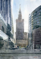 Four faces of Warsaw by GreeGW