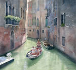 Traveling through Venice