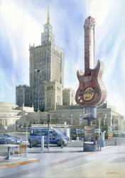 Warsaw's Hard Rock by GreeGW