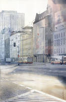 Warsaw Aleje Jerozolimskie by GreeGW