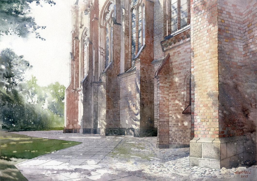 Warsaw brick gothic by GreeGW