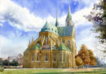 Cathedral in Lodz by GreeGW