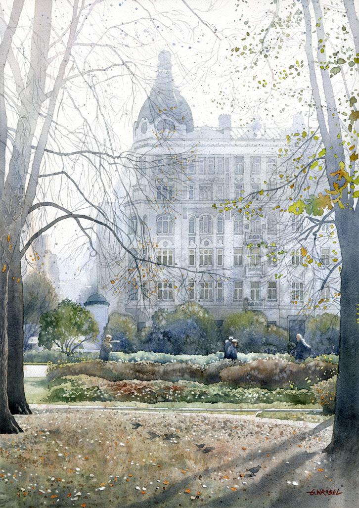 Wilhelm Rakman's house in Warsaw by GreeGW