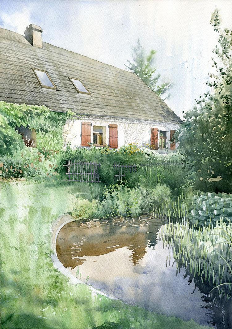 Pyzdry - garden by GreeGW