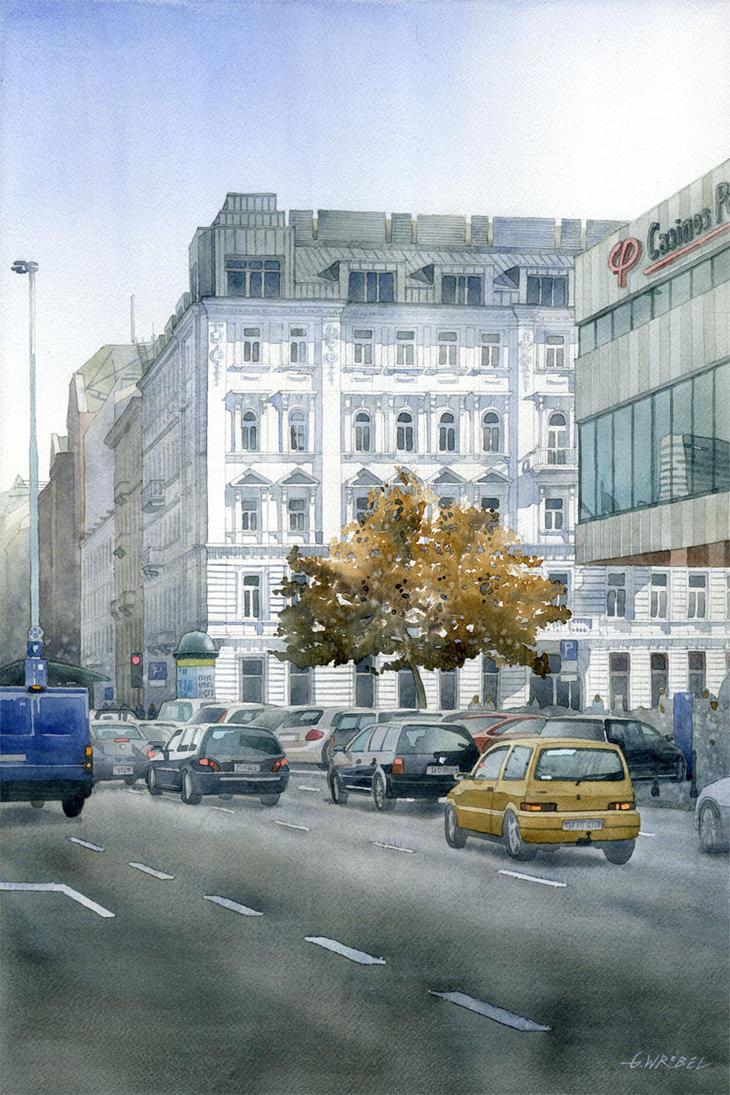 Lipinski tenement house in Warsaw by GreeGW
