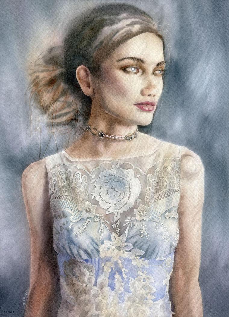 Lady in lace by GreeGW