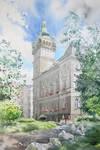 Bielsko Biala Town Hall by GreeGW