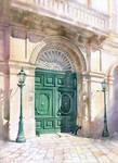 Emerald door