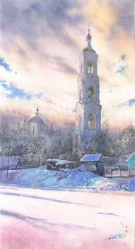 Winter tower