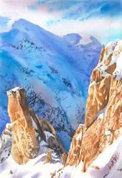 Winter rocks by GreeGW