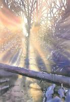 Winter light by GreeGW