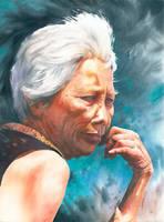 Senior lady by GreeGW