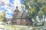 Wooden church in Rychnow