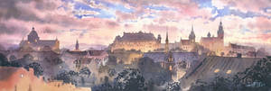 Panorama of Cracow
