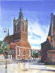 Gdansk kosciol Sw Katarzyny by GreeGW