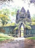 Angkor Wat by GreeGW