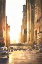 City lights 2 by GreeGW