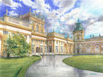 Palace in Wilanow by GreeGW