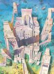 5 Towers Island by GreeGW