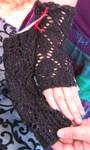Diamond Lace Gloves by DaturaDesign