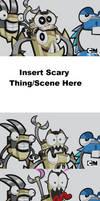 Scorpi Gets Scared MEME Template