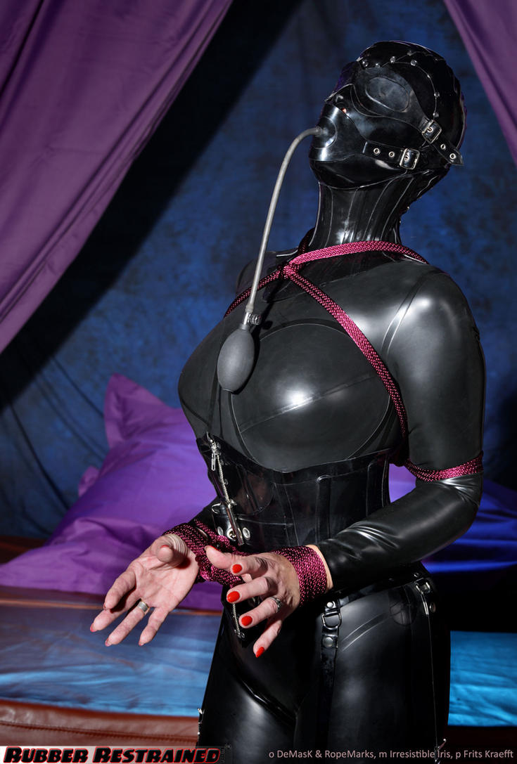 Irresistible Rubber Bondage by ropemarks