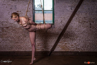 Suspended, suffering, submissive by ropemarks