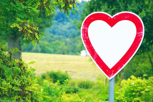 love sign by MrsOverdose