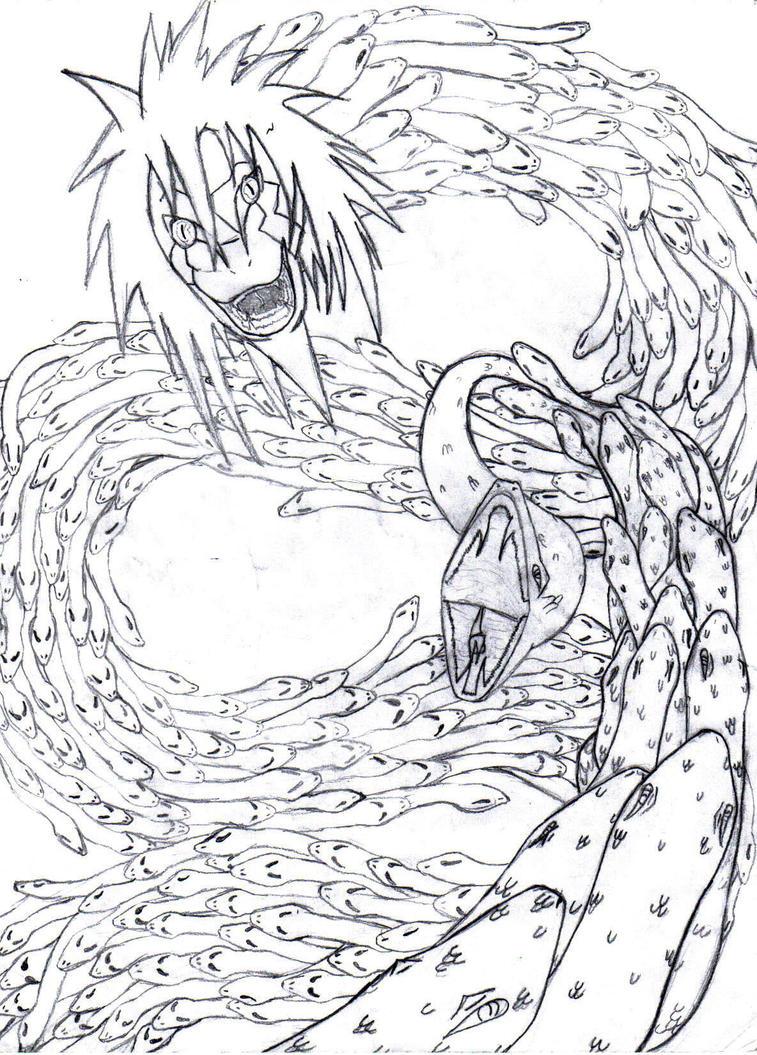 Orochimaru's true form by jyuukenxrasengan on DeviantArt