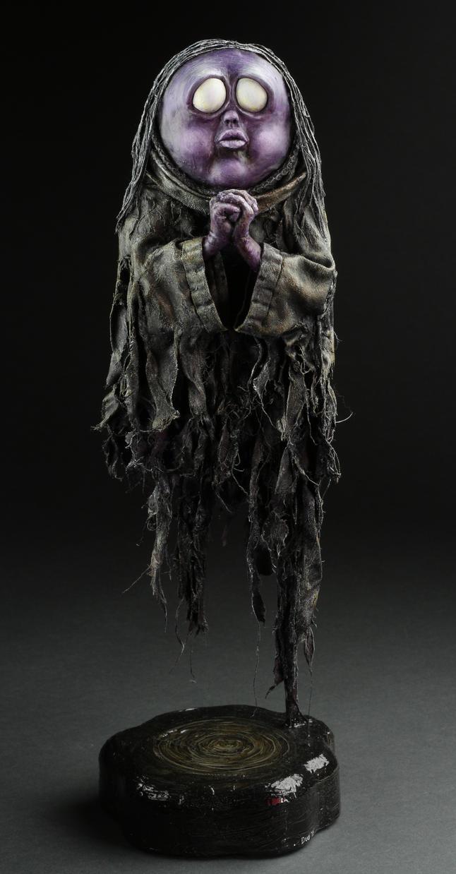 Purple Ghost by DugStanat