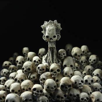 Broodmother and Skulls Installation
